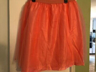 Isaac Mizrahi live Tulle tutu Skirt Dancer Costume Halloween Cinderella  XL