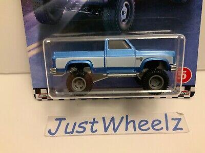 2020 Hot Wheels Premium Boulevard Series '83 Chevy Silverado w/ Real Riders Read
