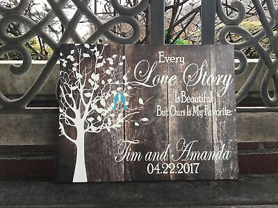 Custom Wedding Canvas, Personalized FREE, Love Birds, Beautiful Gift - Personalized Gift