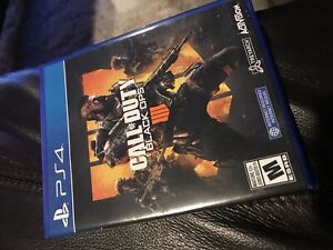BLACK OPS 4 PS4 $40