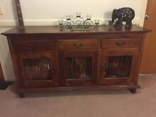 Solid Timber Buffet Unit Ascot Brisbane North East Preview