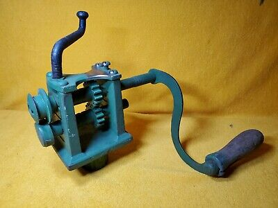 Vintage Peck Smith Co. Turning Bead Roller Sheet Metal Stove Pipe Tinsmith 2