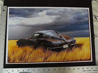 1963 Split Window Corvette 327 Fuel Injection Quality print