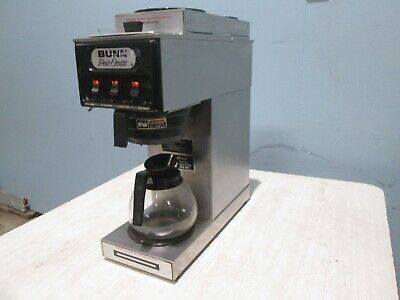 Bunn S H.d. Commercial Nsf Pour-over Coffee Brewer W3 Pot Warmers 1 Pot