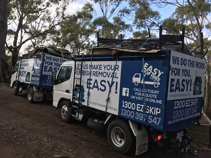 Rubbish Removal - Easy Skip Bin Hire - We do the work for you!!