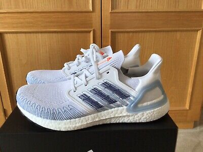 Adidas Ultraboost 20 ISS National Lab US 10 44 White Baby Blue