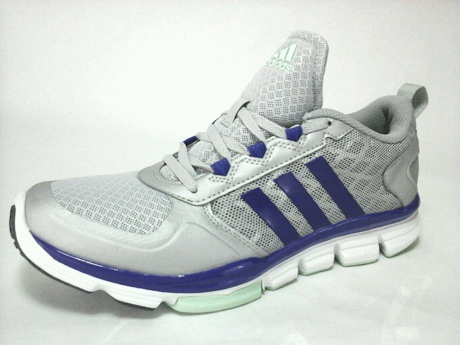 Adidas Womens Ortholite Athletic Gym Yoga Shoes Silver Metallic Purple US 9.5 | eBay