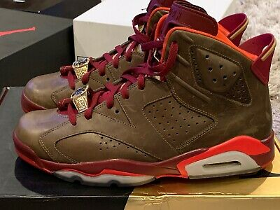 Used Authentic Air Jordan 6 Cigar Size 11