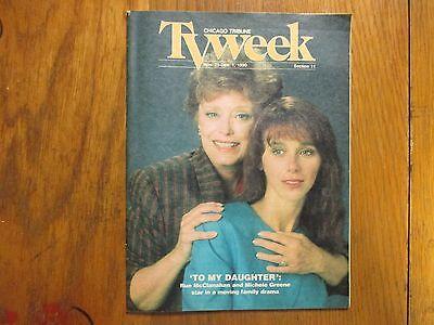 November  25  1990  Chicago  Tribune  Tv  Week   Rue  Mcclanahan Michele  Greene