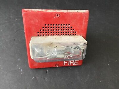 Wheelock E70-24mcw Fire Alarm Speakerstrobe Wall Red