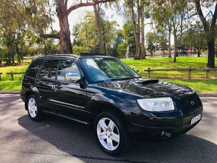 2006 Subaru Forester Wagon XT Luxury AWD Turbo Black Moorebank Liverpool Area Preview