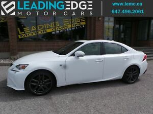 2015 Lexus IS 350 F-Sport Series 3!
