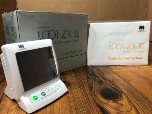 J. Morita Root ZXII ZX II 2 Dental Apex Locator **NEW**