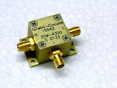 Mixer Mini-circuits Zem-4300 Frequency Mixer 300-4300mhz Sma Female