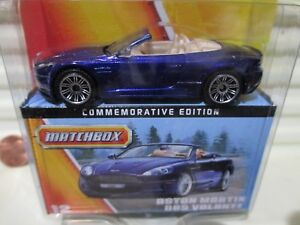 MATCHBOX 60th Anniversary 2012 Commemorative Edn #12 Aston Martin DBS Volante M