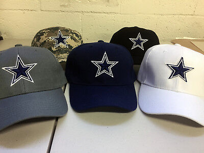 Dallas Cowboys Cap DAL Hat Embroidered Game Men Home Adjustable Curved