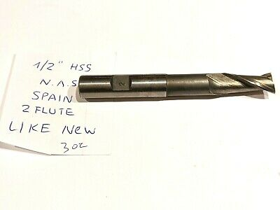 Machinist Tool Reamer Bit 12 2 Flute Milling Cutter