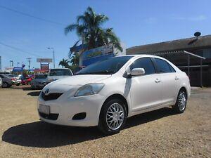 2008 Toyota Yaris YRS Sedan Hermit Park Townsville City Preview