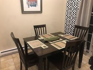 4 chair kitchen/dinning table