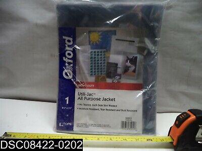Qty 50 5 Pks X 10 65011 Oxford Utilijacs Heavy Duty Clear Plastic Envelopes