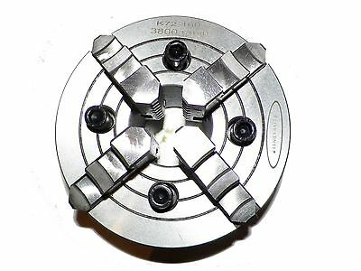 6 Inch 6 4 Jaw Independent Lathe Chuck Semi Steel In Premier Quality