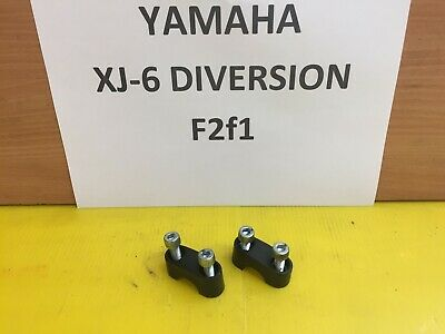 <em>YAMAHA</em> XJ 6 XJ 600 DIVERSION HANDLEBAT CLAMPS BREAKING SPARES 09 10 11