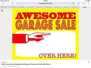MASSIVE GARAGE SALE.. SAT 21 JAN Carina Heights Brisbane South East Preview