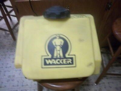 Wacker Neuson Plate Compactor Water Tank Nos Hand Written Part 8080591n.f