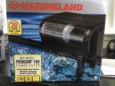 Marineland Bio-Wheel Penguin 150 Aquarium Power Filter 30 gallons
