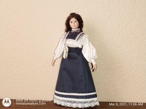 "#344 ""Jennifer"" by Kathy Wells 1/12 scale Miniature Dollhouse Doll"