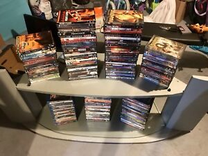 DVDs and Blu-Rays-$340