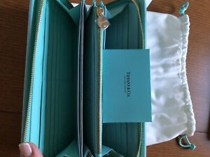 Authentic Tiffany & Co Travel Wallet