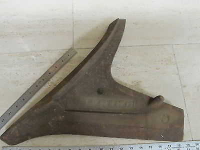 Cast Iron Cultivator Plow Point Posibly Oliver Or Ih Maybe Aftermarket