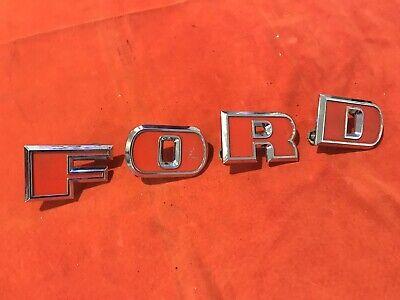 Original Grille Letter Set For Ford Tractor 2000 3000 4000 5000 - C5nn-16606