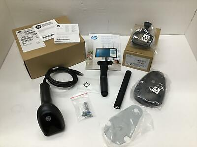 Hp Engage Ii 2d Barcode Scanner Usb Cable Stand Kit 5yq08aa