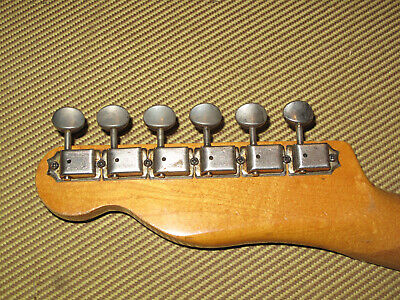 Vintage 1960s Fender Kluson Deluxe Tuners - Telecaster Stratocaster Jazzmaster