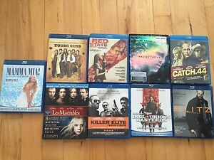 Various Blurays