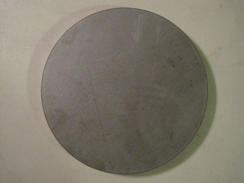 """1/2"""" Steel Plate, Disc Shaped, 10"""" Diameter, .500 A36 Steel, Round, Circle"""