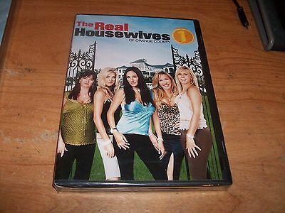 The Real Housewives Of Orange County  Season One  Dvd 2007 2 Disc Set  Drama New