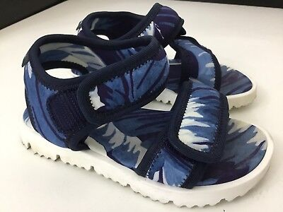 Used, Dolce & Gabbana D&G Boys Sandals, Jasper, Eu25 Uk 7.5, Blue, Immaculate for sale  Liverpool