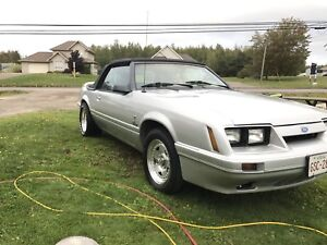 1985 Ford Mustang 5.0 5speed