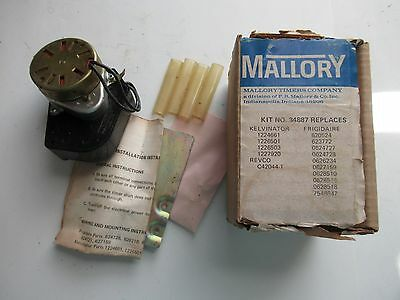 Mallory 34887 Defrost Timer Kit New