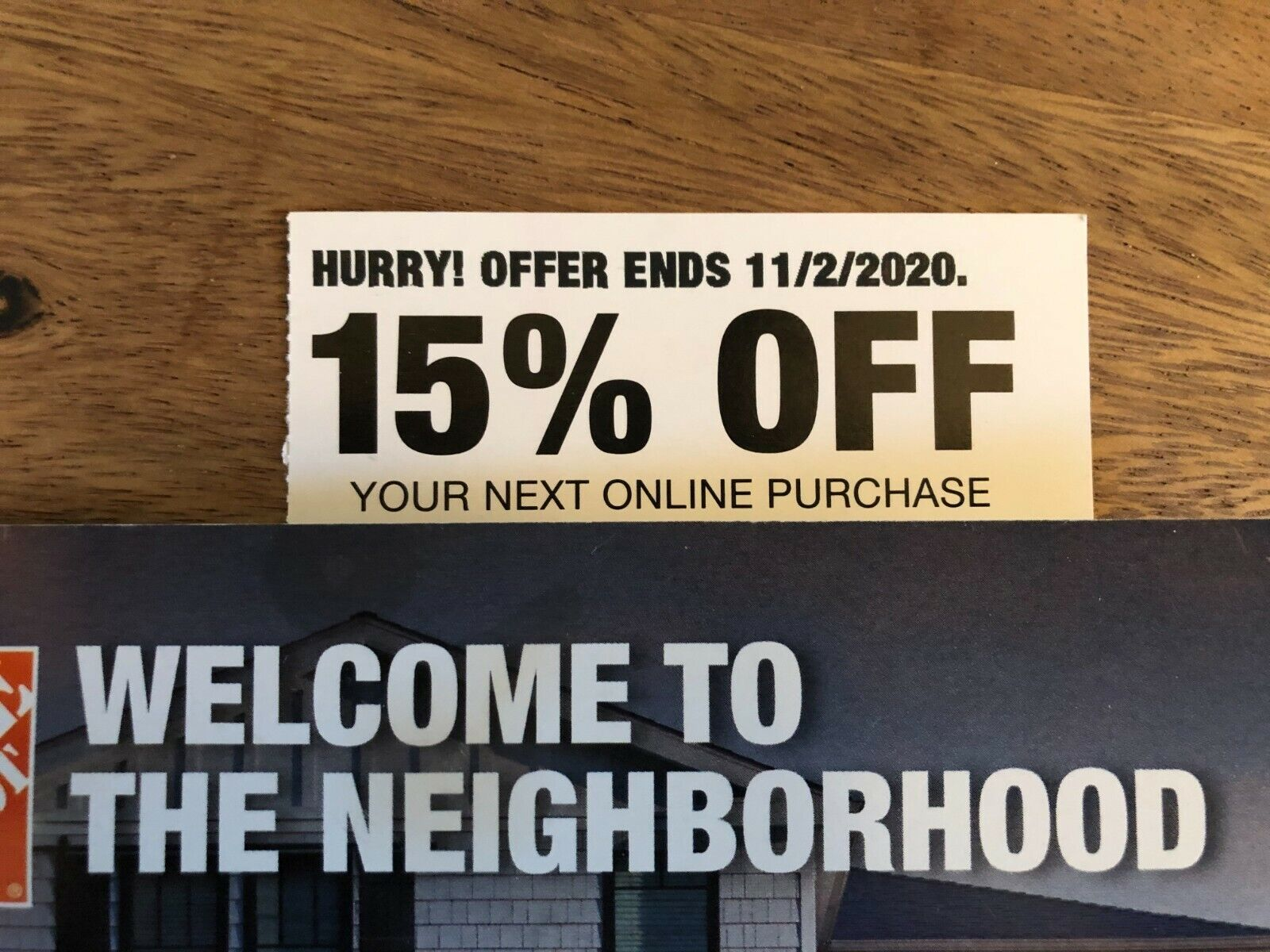 ONE 1X Home Depot 15 OFF Online Coupon Save Up To 200 FAST--SENT - $50.00