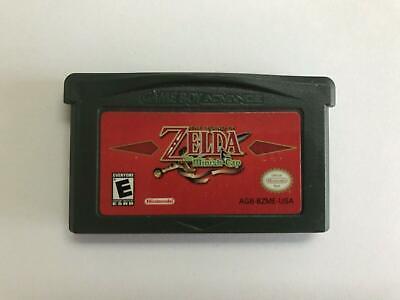 Legend Of Zelda Minish Cap Nintendo GameBoy Advance GBA Authentic Cartridge - $55.40