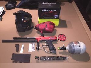 Full Paintball kit