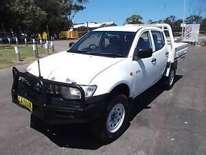 2007 Mitsubishi Triton Ute 3.2 Turbo diesel 5sp 4x4 Bullbar Wickham Newcastle Area Preview