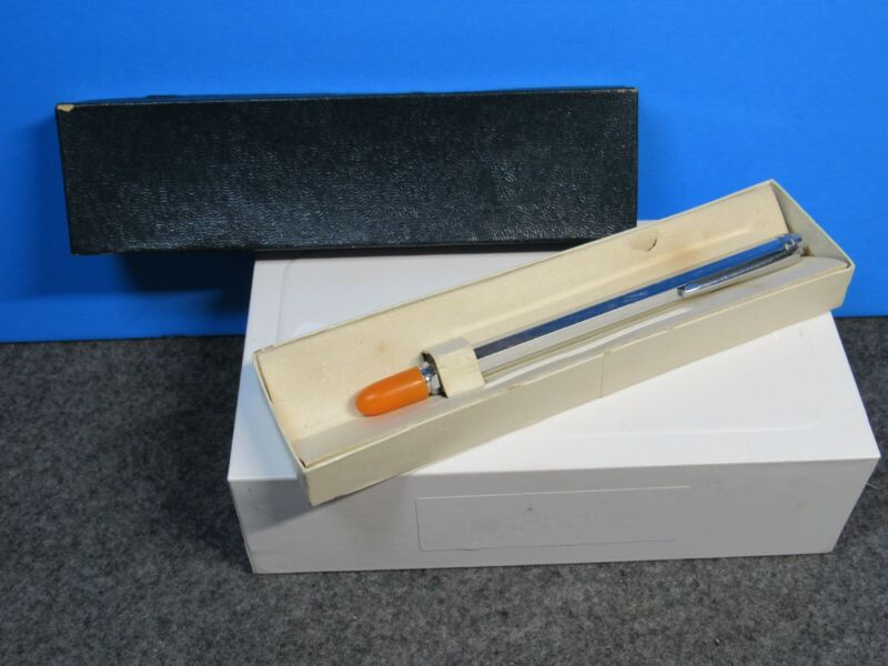 Vintage presentation pen style telescoping pointer 24 inch with box