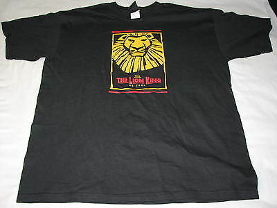 Disney Presents The Lion King on Tour T Shirt XL Theater Broadway Musical Simba
