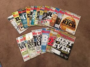 Must Sell! MoneySense Magazine Back Issues