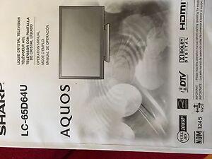Tv Sharp Aqous LC-65D64U